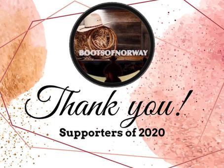 Thank you! Takk til...