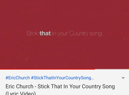 Stick That In Your Country song - En liten rakker er løs.