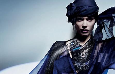 Giorgio Armani - Nick Knight - SS11 - BTS - (La Femme Bleue)