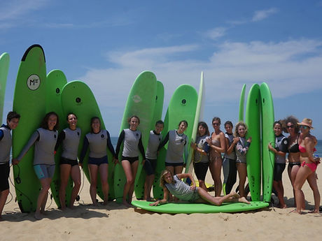 Idée EVJF Chipiron Surfschool Hossegor