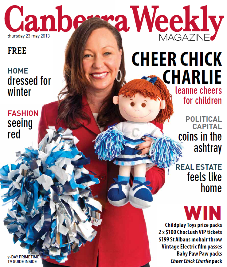 Canberra Weekly Magazine Cover