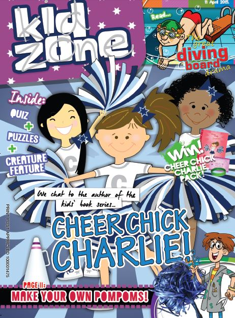 Kid Zone Magazine Front Cover