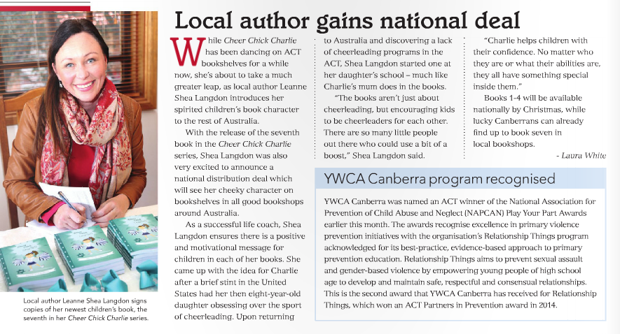 Canberra Weekly release of Book 7 2015