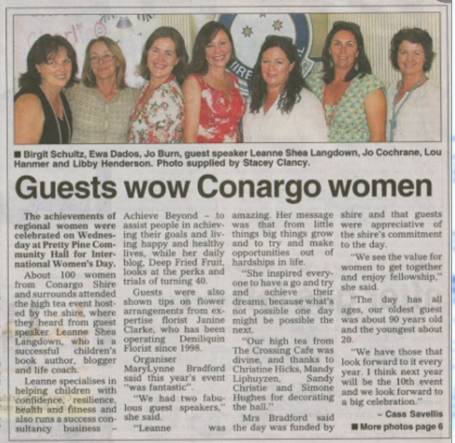 Conargo Shire Talks