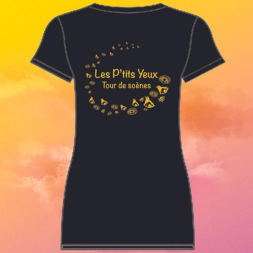 """T-shirt femme """"Tour de Scènes"""" (taille L)"""