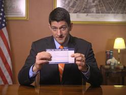 Paul Ryan's Unicorn Tax Postcard