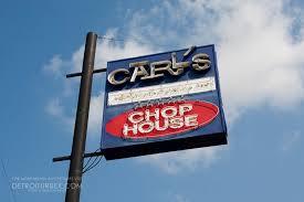 A famous, now closed, Detroit chop house