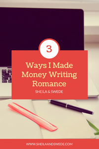 Writing romance and getting paid for it