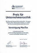 Urkunde-Ethikpreis-MaxTex.jpg