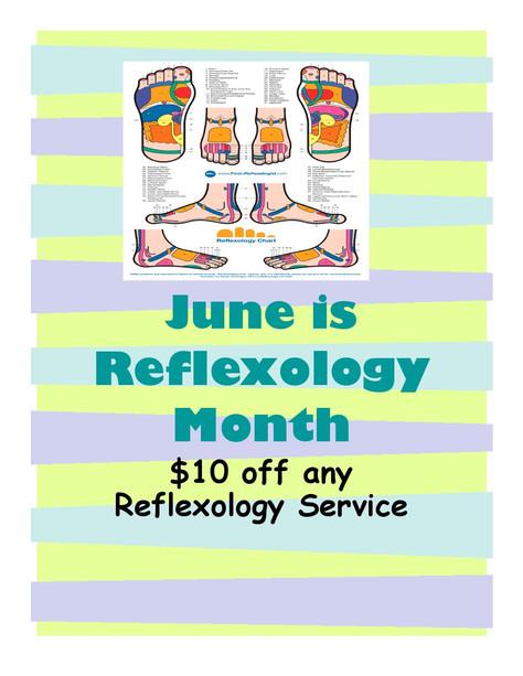 June Is Reflexology Month!