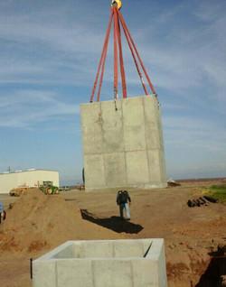 precast, concrete, farming