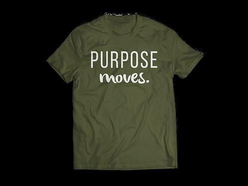 Purpose Moves Tee