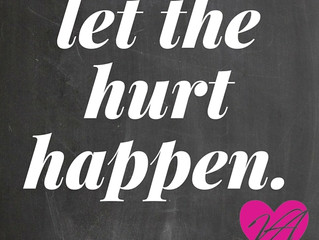 Let The Hurt Happen