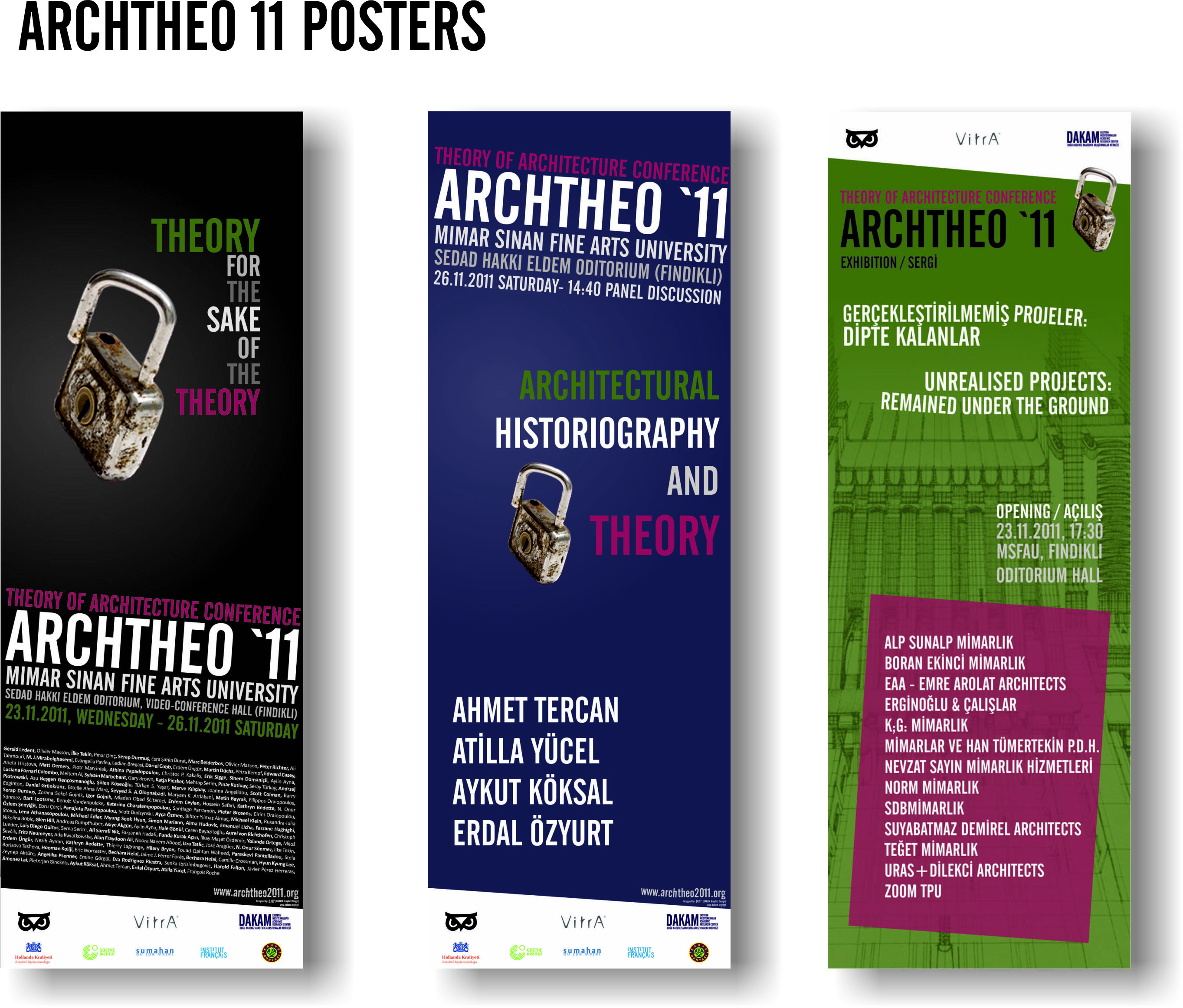 ARCHTHEO 11 POSTERS