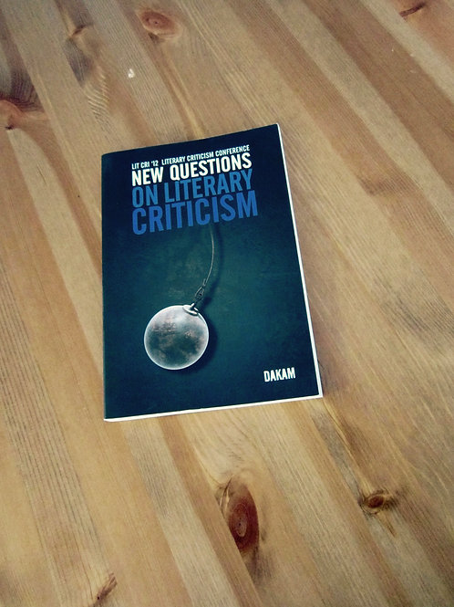 New Questions on Literary Criticism