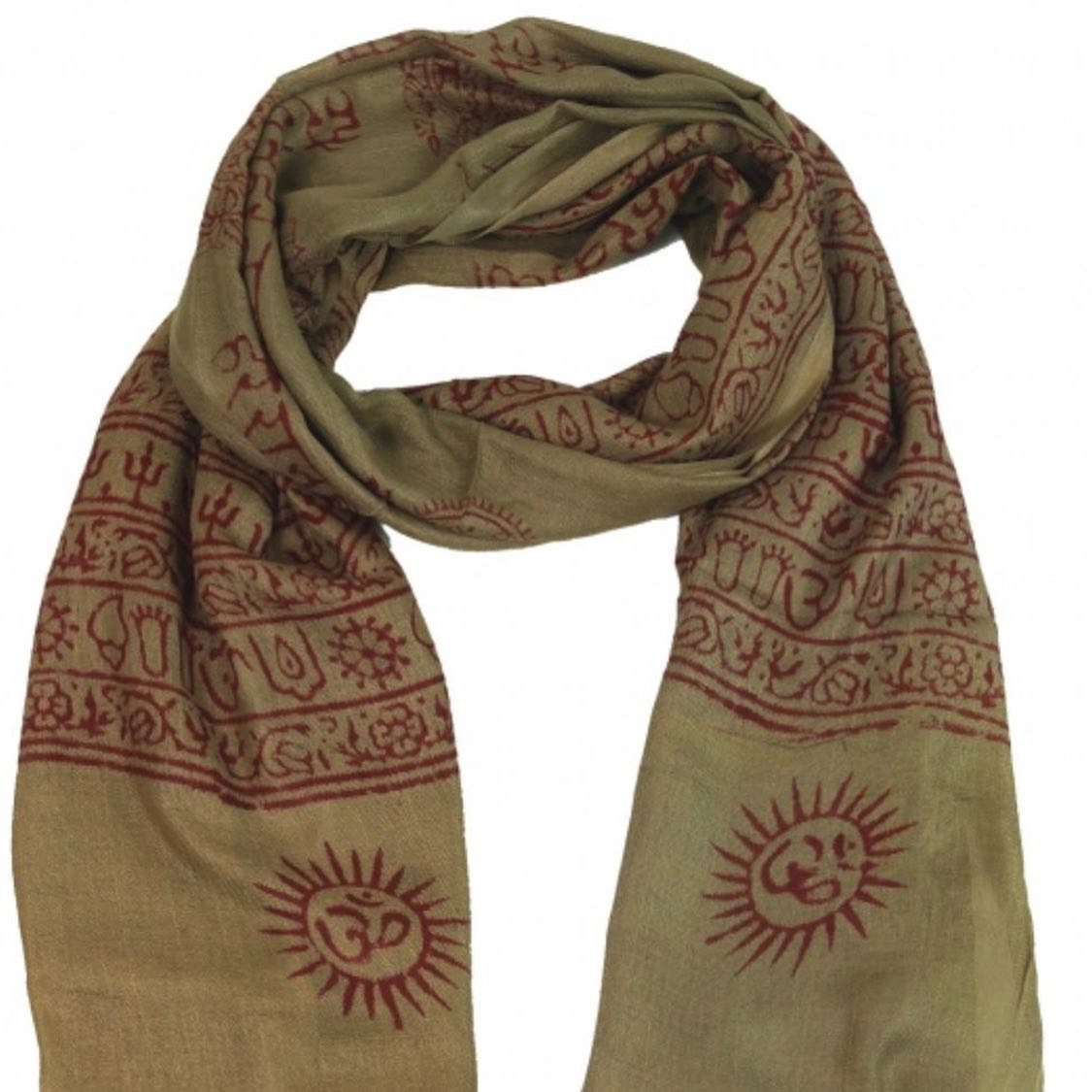 OM RAYON SCARVES