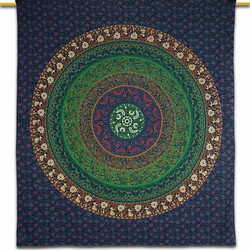 CELTIC MANDALA BLUE