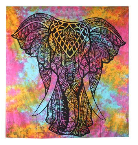 MULTICOLORED ELEPHANT