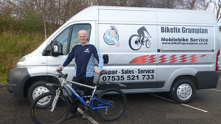 Mobile BikeRepair, Bike Shop Aberdeen
