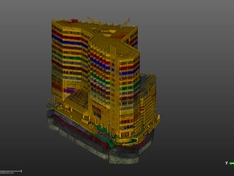 3D Scan_OO건설 숙박시설 리모델링