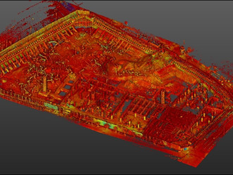 3D Scan_흙막이 가시설 검토