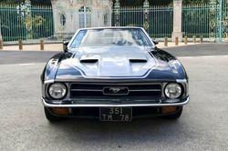 Mustang Cabriolet Noir2 Paris