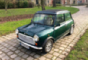 Mini Cooper. Location Retromotorscollect