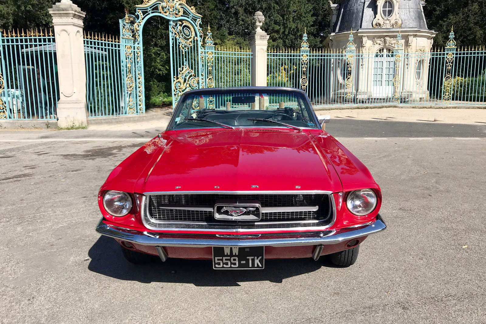 Mustang rouge7 Paris