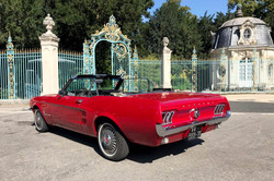 Mustang rouge6 Paris
