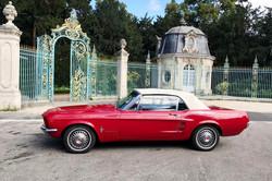 Mustang rouge5 Paris