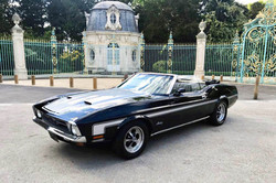 Mustang Cabriolet Noir4 Paris