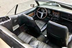 Mustang Cabriolet Noir7 Paris