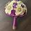 Thumbnail: Stunning Purple Brooch Bouquet