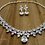 Thumbnail: Peardrop & Marquise Shape Jewelry Set