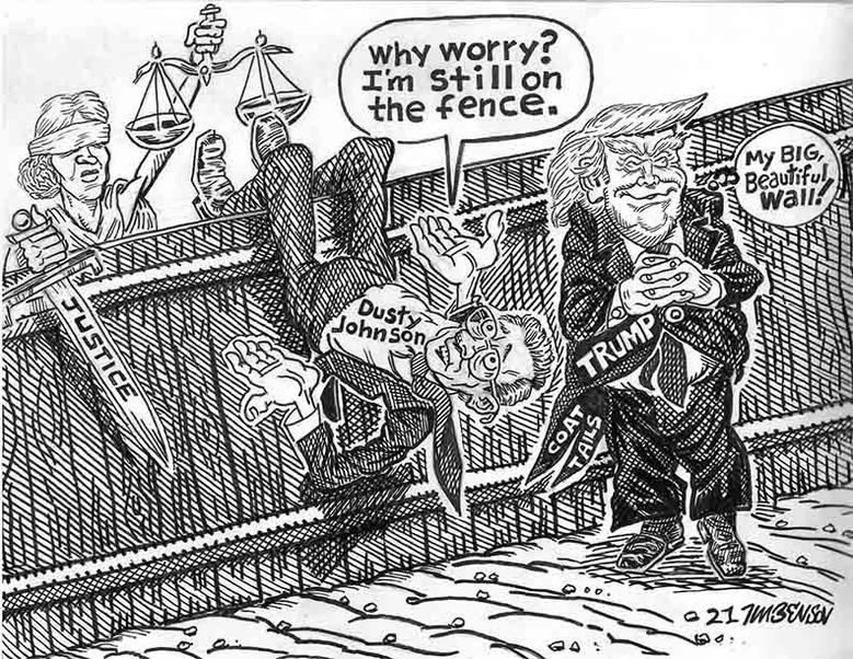 dusty on the fence.jpg