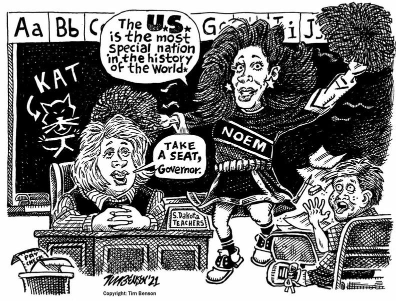 tim-benson-noem-cheerleader-political-cartoon.jpg