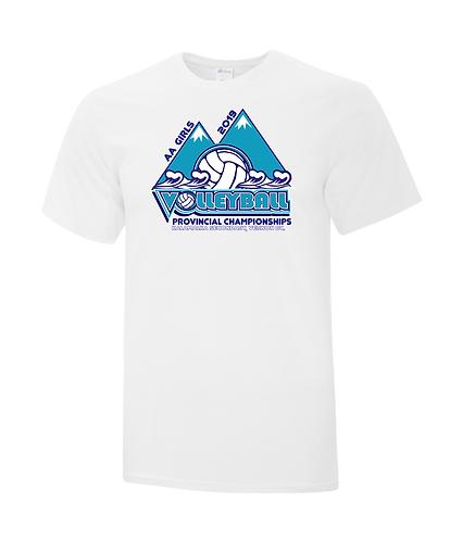 """AA"" Girls Provincial Tee Shirts"