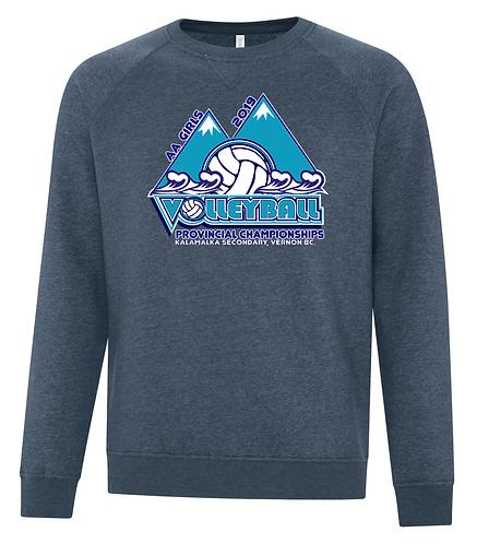 """AA"" Girls Vintage Crew Neck Sweatshirt"