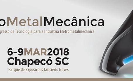 Projeto Solar participa da EletroMetalMecânica 2018 em Chapecó