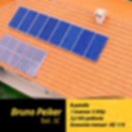 Projeto fotovoltaico residencial em Taió.