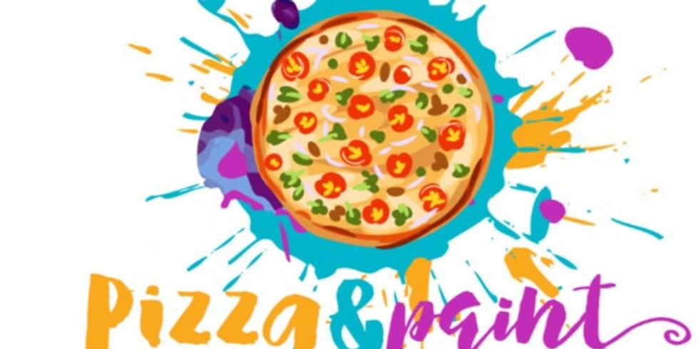 Pizza & Paint Event