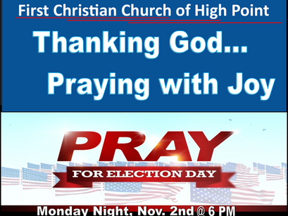 Pray for this Year's Election