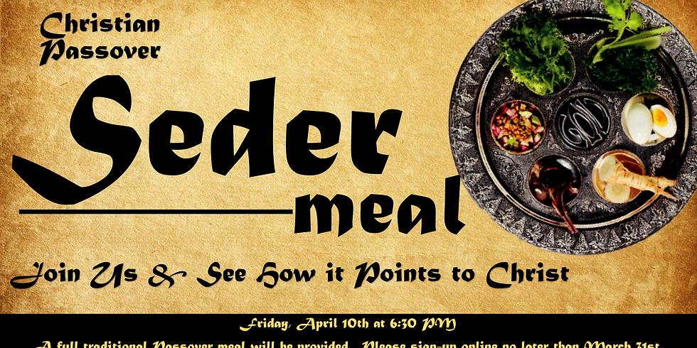 Christian Passover Seder--Postponed