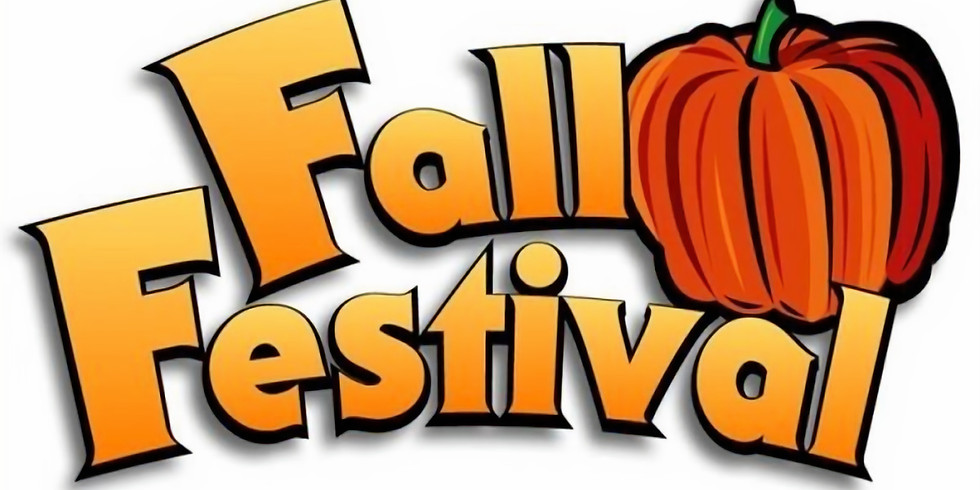 Fall Festival- Sponsored by the Youth
