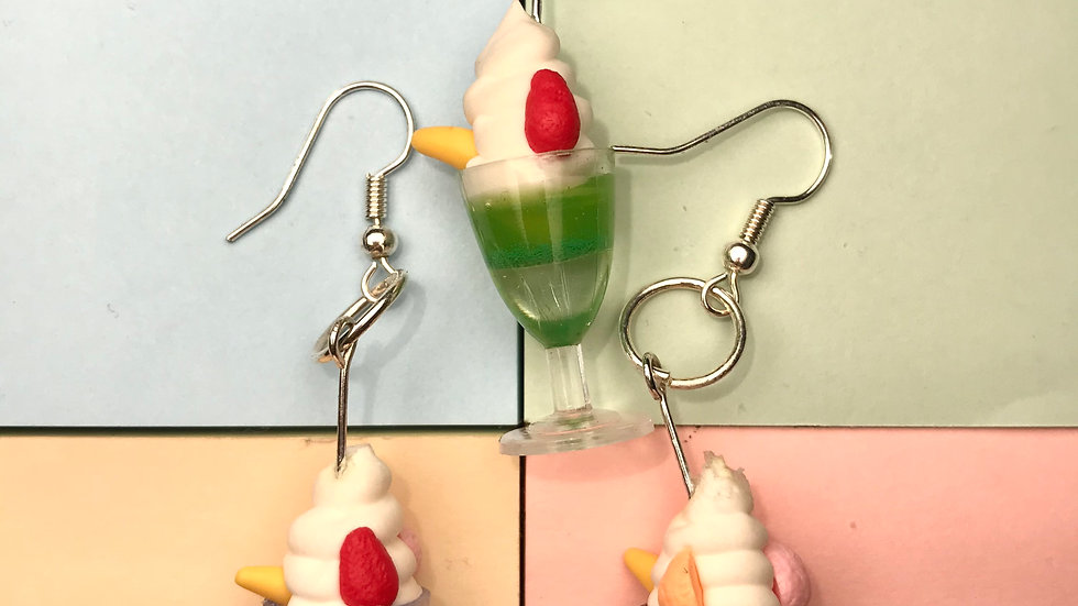 MILK SHAKES EARRINGS