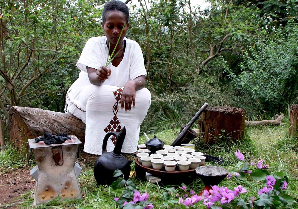 woman, coffee, ethiopian coffee
