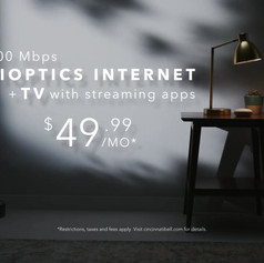 Connected Life - 500 Mbps   Fioptics TV
