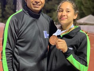 ¡Montserrat Limón Vázquez una atleta de alto nivel!