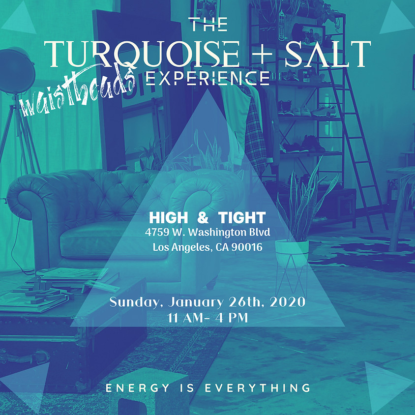 The Turquoise + Salt Experience