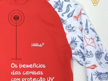 Os benefícios das camisas com proteção UV
